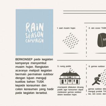 TUSK - Rain Season Campaign
