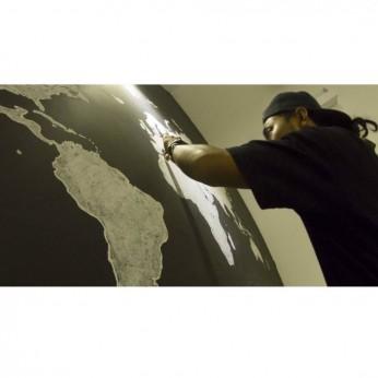 World Map - Chalk
